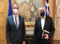Επικοινωνία Μάξιμου με Λιβανό για ενίσχυση σταφυλοπαραγωγών