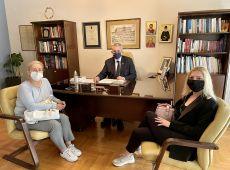 """Μ. Χαρακόπουλος με συμβασιούχους Υγείας: """"Αναγκαία η απασχόληση έμπειρου προσωπικού στο ΕΣΥ"""""""