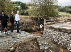 Μάξιμος στα Φάρσαλα ενόψει ψήφισης των μέτρων για πληγέντες - Καταστροφές και σε γέφυρες και οδικό δίκτυο!